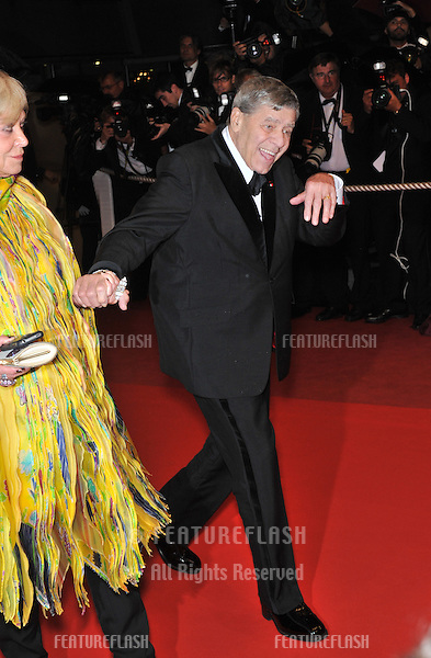 "Jerry Lewis at the premiere for ""Precious"" at the 62nd Festival de Cannes..May 15, 2009  Cannes, France.Picture: Paul Smith / Featureflash"
