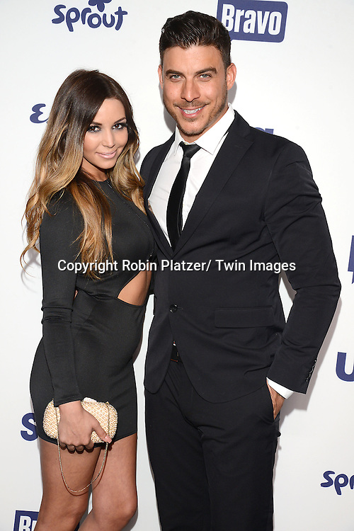Scheana Marie and Jax Taylor attend the NBCUniversal Cable Entertainment Upfront <br /> on May 15, 2014 at The Javits Center North Hall in New York City, New York, USA.