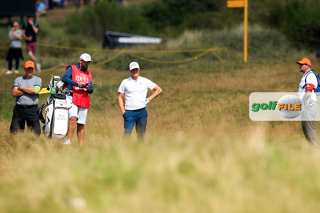 during round 3 of The Open Championship 146th Royal Birkdale, Southport, England. 22/07/2017.<br /> Picture Fran Caffrey / Golffile.ie<br /> <br /> All photo usage must carry mandatory copyright credit (&copy; Golffile   Fran Caffrey)