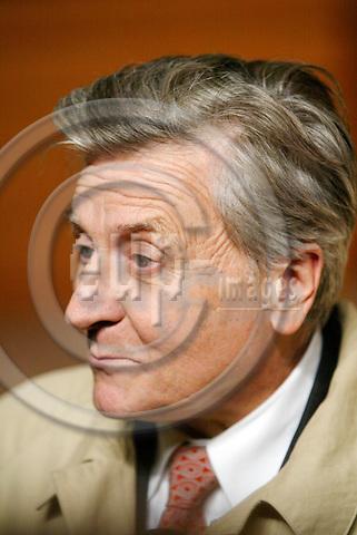 BRUSSELS - BELGIUM - 16 OCTOBER 2003 - EU-SUMMIT--Mr Jean-Claude TRICHET, President disignated of the E.C.B.   FOTO: ERIK LUNTANG/EUP-IMAGES