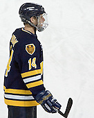 Brian Boulay - Boston College defeated Merrimack College 3-0 with Tim Filangieri's first two collegiate goals on November 26, 2005 at Kelley Rink/Conte Forum in Chestnut Hill, MA.