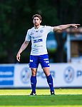 Uppsala 2014-06-26 Fotboll Superettan IK Sirius - IFK V&auml;rnamo :  <br /> V&auml;rnamos Carlos Gaete Moggia gestikulerar<br /> (Foto: Kenta J&ouml;nsson) Nyckelord:  Superettan Sirius IKS Studenternas IFK V&auml;rnamo portr&auml;tt portrait