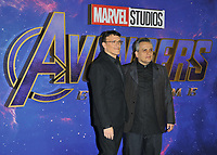 """Anthony Russo and Joe Russo at the """"Avengers: Endgame"""" UK fan event, Picturehouse Central, Corner of Shaftesbury Avenue and Great Windmill Street, London, England, UK, on Wednesday 10th April 2019. <br /> CAP/CAN<br /> ©CAN/Capital Pictures"""