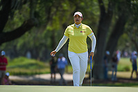 Ariya Jutanugarn (THA) after sinking her putt on 7 during round 1 of the 2019 US Women's Open, Charleston Country Club, Charleston, South Carolina,  USA. 5/30/2019.<br /> Picture: Golffile | Ken Murray<br /> <br /> All photo usage must carry mandatory copyright credit (© Golffile | Ken Murray)