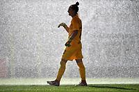 Camelia Ceasar of AS Roma  warms up <br /> Roma 8/9/2019 Stadio Tre Fontane <br /> Luisa Petrucci Trophy 2019<br /> AS Roma - Paris Saint Germain<br /> Photo Andrea Staccioli / Insidefoto