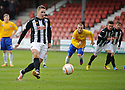 Pars' Stephen Husband misses from the spot ...