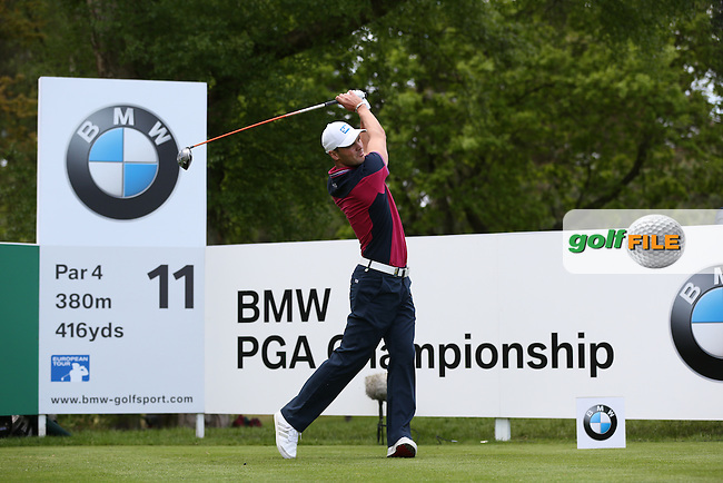 Martin Kaymer (GER)  during Round One of the 2015 BMW PGA Championship over the West Course at Wentworth, Virginia Water, London. Picture David Lloyd, www.golffile.ie: 21/05/2015