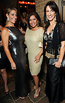 From left: Jessica Meyer, Debbie Festari and Alicia Smith at the Dancing with the Houston Stars event benefitting the Houston Ballet at the home of John and Becca Thrash  Friday Sept. 24, 2010. (Dave Rossman/For the Chronicle)