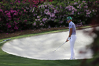 Rafa Cabrera Bello (ESP) on the 13th green during the 1st round at the The Masters , Augusta National, Augusta, Georgia, USA. 11/04/2019.<br /> Picture Fran Caffrey / Golffile.ie<br /> <br /> All photo usage must carry mandatory copyright credit (© Golffile | Fran Caffrey)