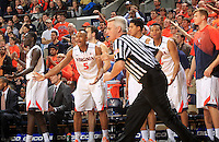 Virginia bench during the game Jan. 7, 2015, in Charlottesville, Va. Virginia defeated NC State  61-51.
