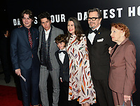 Gary Oldman, Gisele Schmidt, Kathleen Oldman &amp; Family at the premiere for &quot;Darkest Hour&quot; at the Samuel Goldwyn Theatre at The Motion Picture Academy. Beverly Hills, USA 08 November  2017<br /> Picture: Paul Smith/Featureflash/SilverHub 0208 004 5359 sales@silverhubmedia.com
