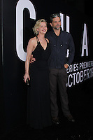 LOS ANGELES, CA - OCTOBER 17: Tod Williams, Gretchen Mol attends the premiere of Hulu's 'Chance' at Harmony Gold Theatre on October 17, 2016 in Los Angeles, California. (Credit: Parisa Afsahi/MediaPunch).