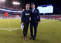 Tampa, FL - March 5, 2019:  The USWNT defeated Brazil 1-0 during the SheBelieves Cup at Raymond James Stadium.