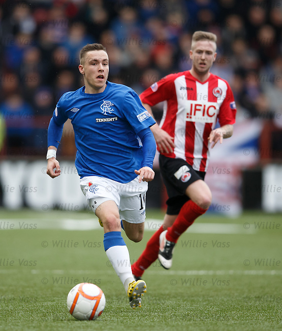 Barrie McKay on a charge