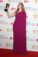 Jodie Comer at the Virgin Media BAFTA Television Awards 2019 - Press Room at The Royal Festival Hall, London on May 12th 2019<br /> CAP/ROS<br /> ©ROS/Capital Pictures