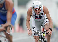 15 JUL 2007 - LORIENT, FRA - Cyrille Neveu (FRA) - World Elite Mens Long Distance Triathlon Championships. (PHOTO (C) NIGEL FARROW)