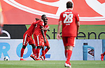 3:1 Tor, Jubel, v.l. Torschuetze Edimilson Fernandes, Moussa Niakhate, Leandro Barreiro Martins (Mainz)<br /><br />Sport: Fussball: 1. Bundesliga:: nphgm001:  Saison 19/20: 33. Spieltag: 1. FSV Mainz 05 vs SV Werder Bremen 20.06.2020<br />Foto: Wagner/Witters/Pool//via gumzmedia/nordphoto<br /><br /><br /> DFL REGULATIONS PROHIBIT ANY USE OF PHOTOGRAPHS AS IMAGE SEQUENCES AND OR QUASI VIDEO<br />EDITORIAL USE ONLY<br />NATIONAL AND INTERNATIONAL NEWS AGENCIES OUT