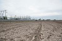 Wind farm; Parque Eolico Reynosa, Reynosa, Tamaulipas, Mexico
