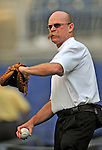 11 July 2008: Houston Astros' Assistant Athletic Trainer Rex Jones tosses some ball prior to a game against the Washington Nationals at Nationals Park in Washington, DC. The Nationals shut out the Astros 10-0 in the first game of their 3-game series...Mandatory Photo Credit: Ed Wolfstein Photo