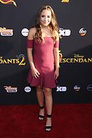 "11 July 2017 - Hollywood, California - Mackenzie Ziegler. Disney's ""Descendants 2"" Los Angeles Premiere held at the ArcLight Cinerama Dome in Hollywood. Photo Credit: Birdie Thompson/AdMedia"