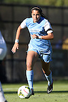 19 October 2014: North Carolina's Alex Kimball. The Duke University Blue Devils hosted the University of North Carolina Tar Heels at Koskinen Stadium in Durham, North Carolina in a 2014 NCAA Division I Women's Soccer match. North Carolina won the game 3-0.