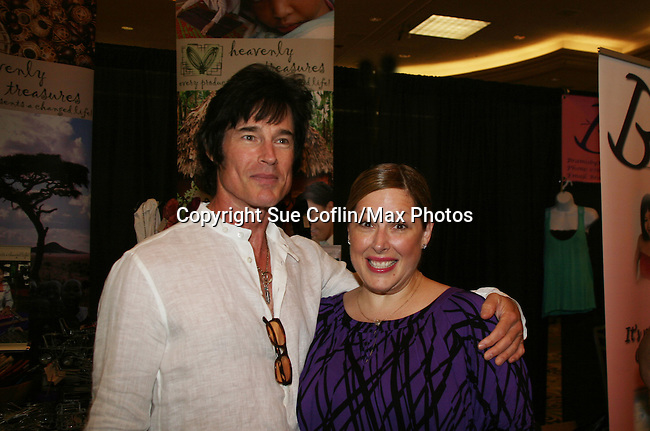 Bold and the Beautiful Ronn Moss poses with Carnie Wilson (a big fan of his) - Official Daytime Emmy Awards gifting Suite on June 26, 2010 during 37th Annual Daytime Emmy Awards at Las Vegas Hilton, Las Vegas, Nevada, USA. (Photo by Sue Coflin/Max Photos)
