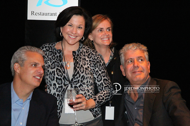 Anthony Bourdain at Blue Restaurant