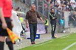 22.07.2017, Millerntor-Stadion, Hamburg, GER, FSP, FC St. Pauli vs SV Werder Bremen<br /> <br /> im Bild<br /> Olaf Janssen (Trainer FC St. Pauli) freut sich, <br /> <br /> Foto &copy; nordphoto / Ewert
