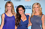 Kyle Richards, Camille Grammer and Taylor Armstrong attends Perez Hilton's Blue Ball held at Siren Studios in West Hollywood, California on March 26,2011                                                                               © 2010 DVS / Hollywood Press Agency