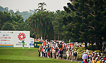 TAOYUAN, TAIWAN - OCTOBER 27:  Inbee Park of South Korea tees off on the 15th hole during the day three of the Sunrise LPGA Taiwan Championship at the Sunrise Golf Course on October 27, 2012 in Taoyuan, Taiwan.  Photo by Victor Fraile / The Power of Sport Images