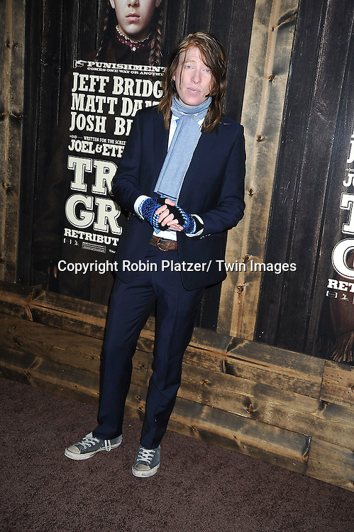 "actor Domhnall Gleeson attending The New York Premiere of .""True Grit"" on December 14, 2010 at The Ziegfeld Theatre. The movie stars Jeff Bridges, Matt Damon and Hailee Steinfeld."