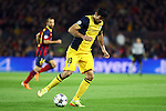 UEFA Champions League 2013/2014.<br /> Quarter-finals 1st leg.<br /> FC Barcelona vs Club Atletico de Madrid: 1-1.<br /> Diego Costa.