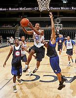 Josiah Turner at the NBPA Top100 camp June 18, 2010 at the John Paul Jones Arena in Charlottesville, VA. Visit www.nbpatop100.blogspot.com for more photos. (Photo © Andrew Shurtleff)