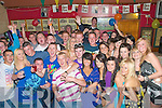 18th birthday: Jamie Barry, fifth from  left, Ashgrove Listowel, celebrating his 18th birthday with family and frieds at Christiy' Well Bar in Listowel on Saturday night last.