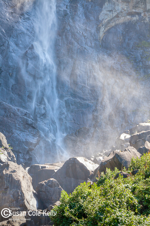 Bridalveil Fall in Yosemite National Park, CA, USA