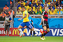 Luiz Gustavo (BRA), Bastian Schweinsteiger (GER), JULY 8, 2014 - Football / Soccer : FIFA World Cup Brazil 2014 Semi Final match between Brazil 1-7 Germany at Estadio Mineirao in Belo Horizonte, Brazil. (Photo by Maurizio Borsari/AFLO)