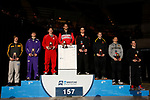 LA CROSSE, WI - MARCH 11:  The 157 weight class during the Division III Men's Wrestling Championship held at the La Crosse Center on March 11, 2017 in La Crosse, Wisconsin. (Photo by Carlos Gonzalez/NCAA Photos via Getty Images)