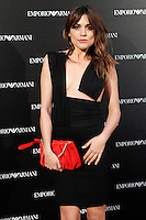 Adriana Ugarte attends the Emporio Armani Boutique opening at Serrano street in Madrid, Spain. April 08, 2013. (ALTERPHOTOS/Caro Marin) /NortePhoto