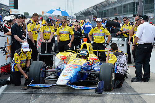 21-22 May, 2016, Indianapolis, Indiana, USA<br /> Townsend Bell<br /> ©2016, Scott R LePage <br /> LAT Photo USA