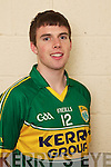Fergal McNamara member of the Kerry U-21 panel 2012