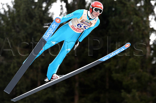 13.12.2013 Titisee-Neustadt Germany. Mens World Cup Ski-Jumping Training and Qualification.t Andreas Wellinger (GER).