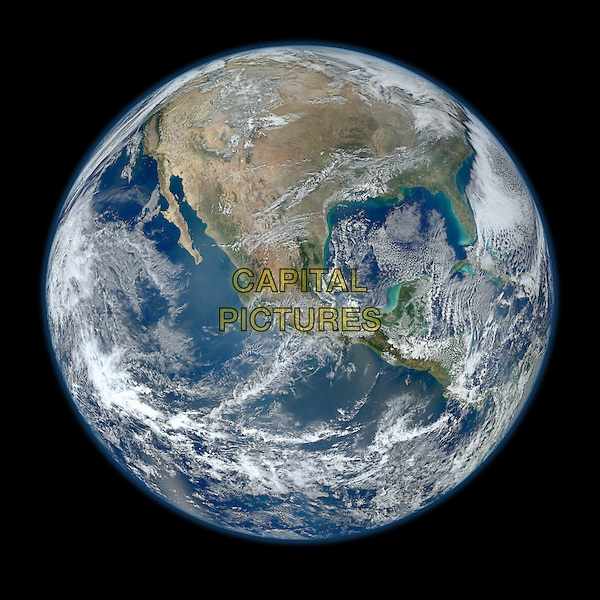 Earth view from space.space universe galaxy gv general view  planet .*Editorial Use Only*.CAP/NASA/PLF.Supplied by PLF/NASA/Capital Pictures