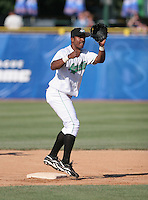 Jose Vallejo of the Clinton Lumberkings during the Midwest League All-Star game.  Photo by:  Mike Janes/Four Seam Images