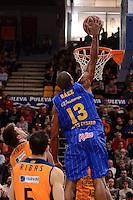B&aacute;ez<br /> Liga Endesa ACB - 2014/15<br /> J12<br /> Valencia Basket vs Herbalife Gran Canaria