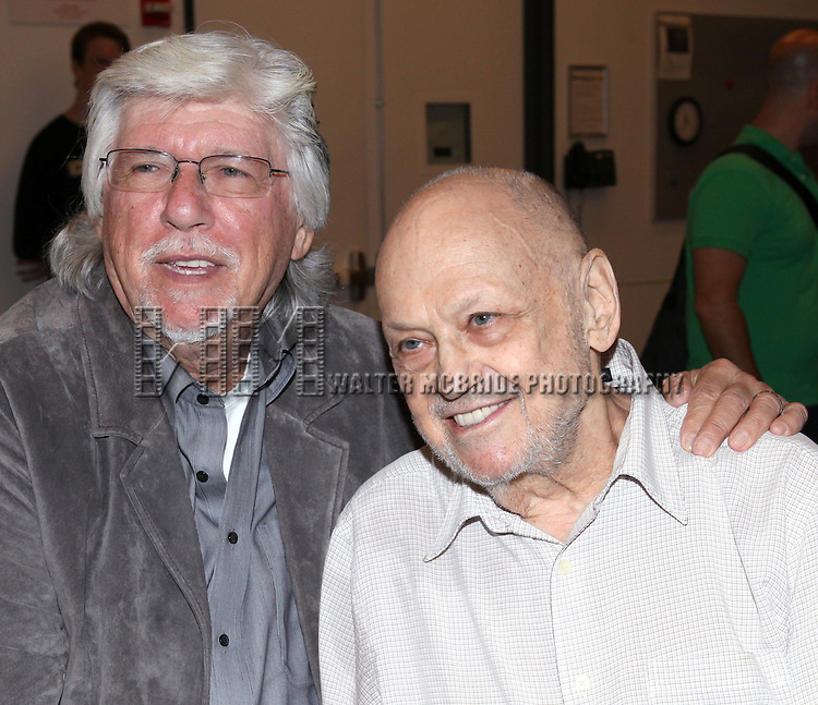 Martin Charnin & Charles Strouse attending the Meet & Greet for 'ANNIE' at The New 42nd Street Rehearsal Studios in New York City on September 112, 2012
