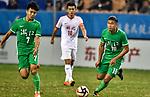 05.09.2017, Stadion, Tianjin, CN. 13. Nationalen Chinesischen Fussballspielen, Zhejiang vs Hubei, im Bild , <br /> <br /> <br /> im Bild Yuning Zhang (Werder Bremen #19) im Halbfinale im grünen Trikot - wie bei seinem Werder Bremen mit der Rueckennummer 10<br /> <br /> Foto © nordphoto / Oscar <br /> ++++ Attention ++++ ALL RIGHTS RESERVED Kein -Facebook -Twitter -Instagram -Social Media Web, keine online Galerie Pauschale,  Honorar und Belegexemplar Star People