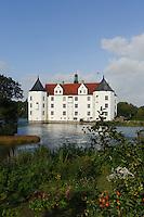 Schloss in Glücksburg, Schleswig-Holstein, Deutschland