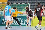 Team Kretsches Elton (Nr.71) mit einem Tor durch Sprungwurf beim Tag des Handballs - Team Frank Buschmann vs. Team Stefan Kretzschmar.<br /> <br /> Foto &copy; P-I-X.org *** Foto ist honorarpflichtig! *** Auf Anfrage in hoeherer Qualitaet/Aufloesung. Belegexemplar erbeten. Veroeffentlichung ausschliesslich fuer journalistisch-publizistische Zwecke. For editorial use only.