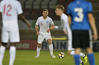 Laurence Maguire Of England C and Chesterfield FC during England C vs Estonia Under-23, International Friendly Match Football at The Breyer Group Stadium on 10th October 2018