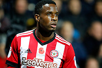 Florian Jozefzoon of Brentford seen during the Sky Bet Championship match between Brentford and Leeds United at Griffin Park, London, England on 4 November 2017. Photo by Carlton Myrie.